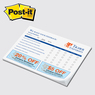 "PD68P-25 - Post-it Note Pad - Value Priced 8"" x 5-13/16"" x 25 sheets"